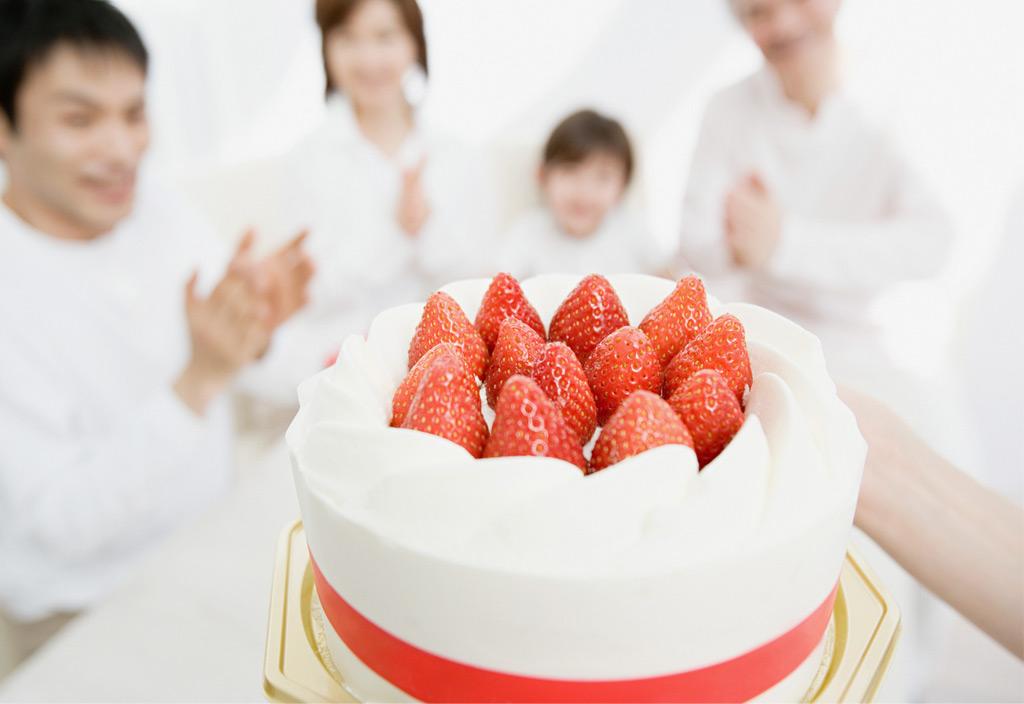 お祝い御膳(ケーキ編)