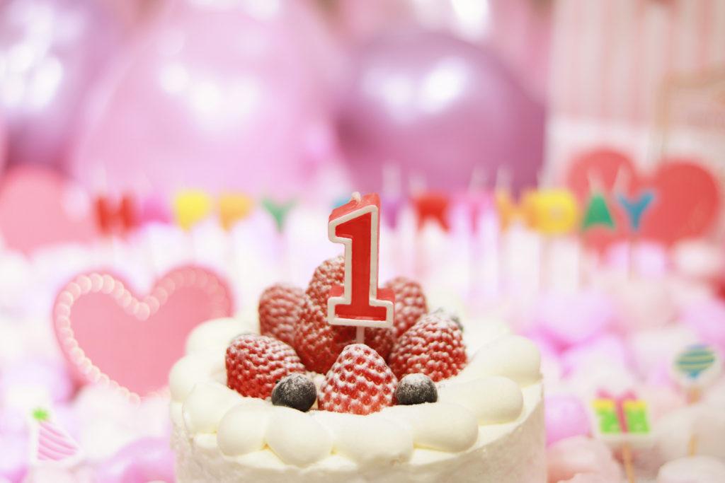 1歳の誕生日ケーキアイデア!手作りバースデーケーキをプレゼントしよう